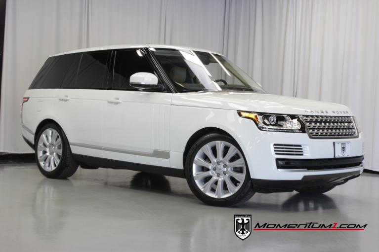 Used 2017 Land Rover Range Rover HSE Td6 for sale $67,373 at Momentum Motorcars Inc in Marietta GA