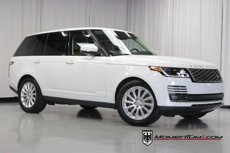 Used 2018 Land Rover Range Rover HSE for sale $81,898 at Momentum Motorcars Inc in Marietta GA