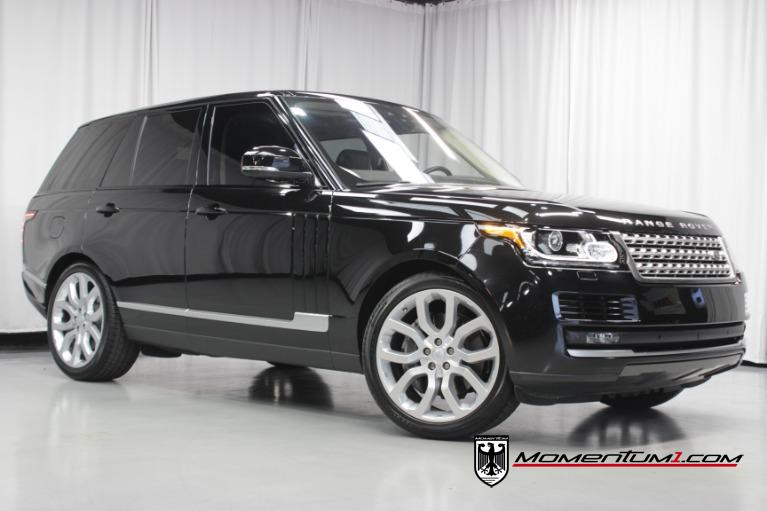 Used 2017 Land Rover Range Rover HSE for sale $66,895 at Momentum Motorcars Inc in Marietta GA