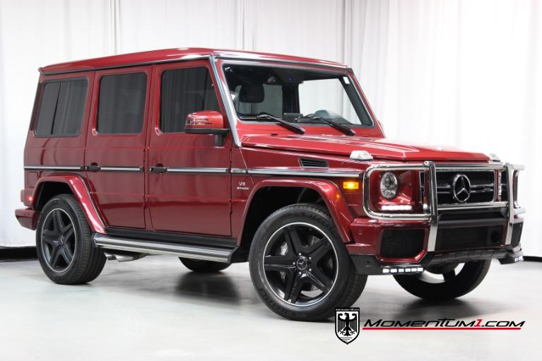Used 2017 Mercedes-Benz G-Class AMG G 63 for sale $112,366 at Momentum Motorcars Inc in Marietta GA
